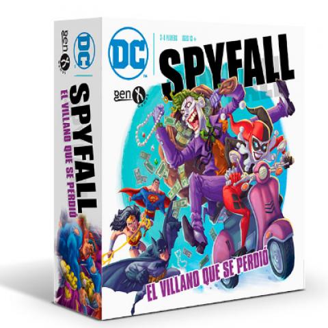DC Spyfall: El Villano que se Perdió