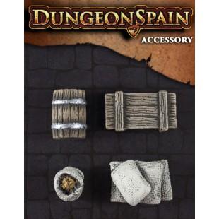 Dungeon Spain: Pack accesorios 4 - Objetos de almacén