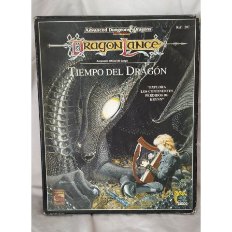 Caja Advanced Dungeons & Dragons 2ª versión. Dragonlance. Tiempo del Dragón (Ediciones Zinco)
