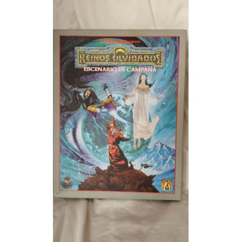 Caja Advanced Dungeons & Dragons. Reinos Olvidados. Forgotten Realms. Escenario de campaña (Taller de Juegos)