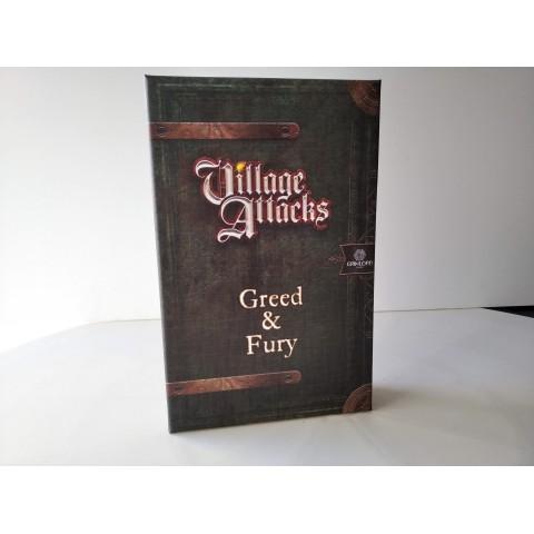 VILLAGE ATTACKS - Greed & Fury (Segunda Mano)