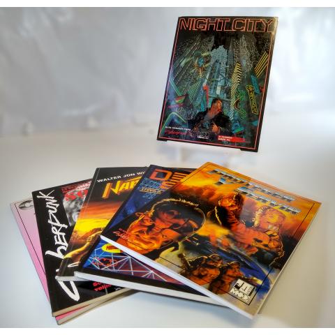 Pack Rol: Cyberpunk 2  (Segunda Mano)