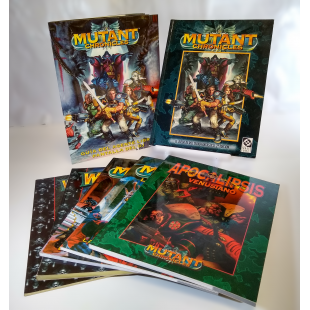 Pack rol: Mutant Chronicles (Segunda Mano)