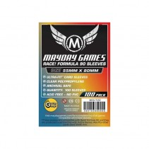 "Fundas Mayday ""Race! Formula 90""  (55 X 80 MM)"
