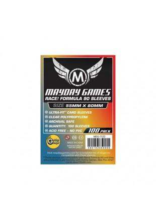 """Fundas Mayday """"Race! Formula 90""""  (55 X 80 MM)"""