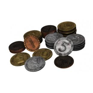 Clanes de caledonia - Monedas de metal