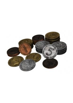 Clans of Caledonia - Monedas de metal