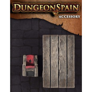 Dungeon Spain: Pack accesorios 11 - Mesa y silla