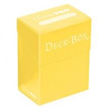 Deck Box Ultra Pro Solid Amarillo
