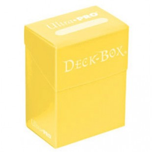 Deck Box Ultra Pro Solid Amarillo