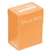 Deck Box Ultra Pro Solido Naranja