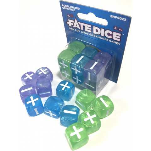 Dados Fate: Accelerated Core