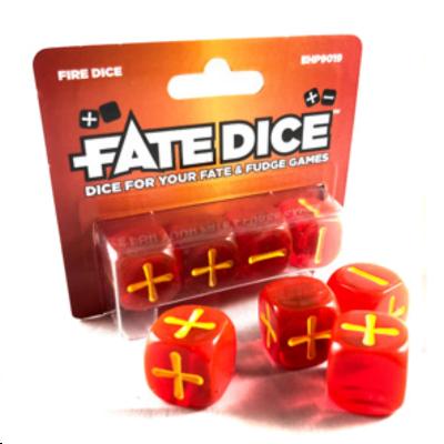 Dados Fate: Fire