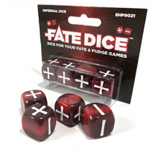 Dados Fate: Infernal