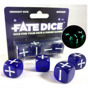 Dados Fate: Midnight