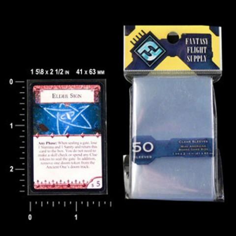 50 fundas juego de tablero americano mini FF (41 x 63 mm)