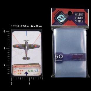 50 fundas juego de tablero europeo mini FF (44 x 68 mm)