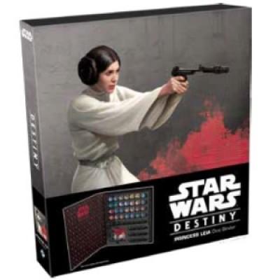 Star Wars Destiny - Carpeta para dados Princesa Leia