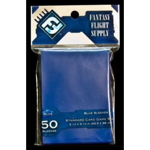 50 Fundas para Cartas: Azul (Fantasy Flight)