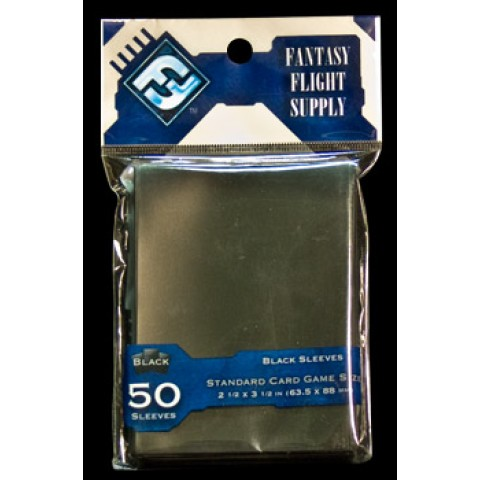 50 Fundas para Cartas: Negro (Fantasy Flight)