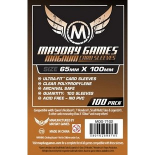 "Fundas Mayday Magnum Cooper Ultra-Fit: (65 mm x 100 mm) ""7 Wonders"""