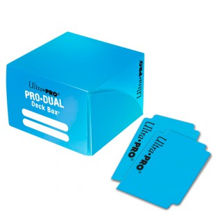 Deck Box Pro Dual Light Blue