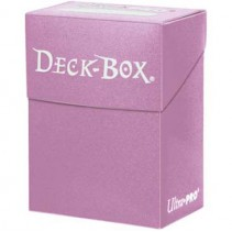 Deck Box Ultra Pro Solid Rosa