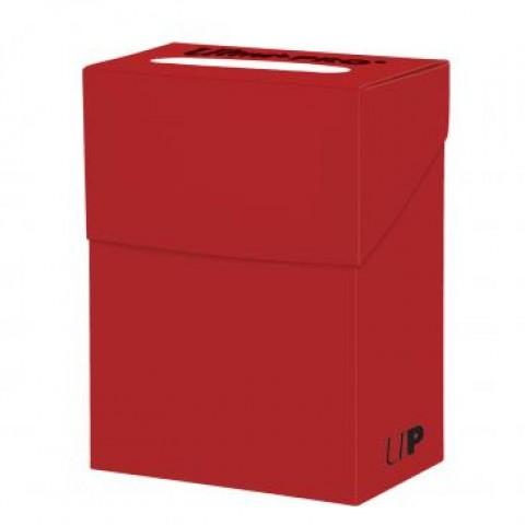 Deck Box Ultra Pro Solid Rojo
