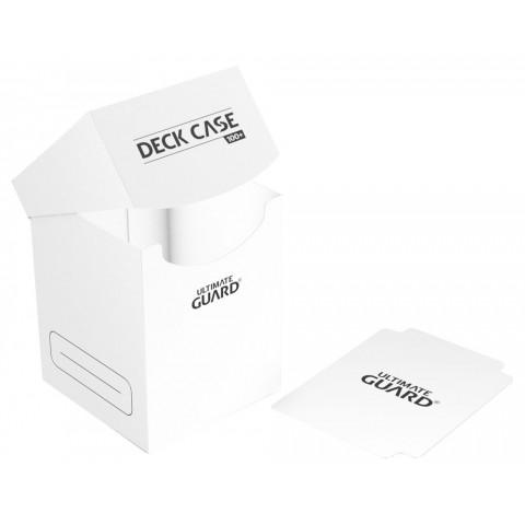 Ultimate Guard Deck Case 100+ Caja de Cartas Tamaño Estándar Blanco