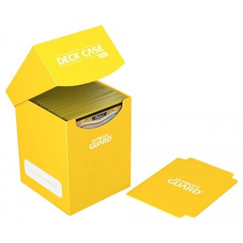 Ultimate Guard Deck Case 100+ Caja de Cartas Tamaño Estándar Amarillo