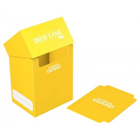 Ultimate Guard Deck Case 80+ Caja de Cartas Tamaño Estándar Amarillo