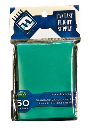 50 Fundas para Cartas: Verde (Fantasy Flight)