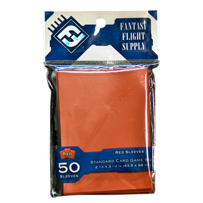 50 Fundas para Cartas: Rojo (Fantasy Flight)