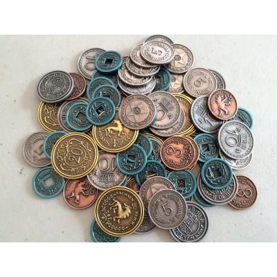 Scythe: Monedas de metal