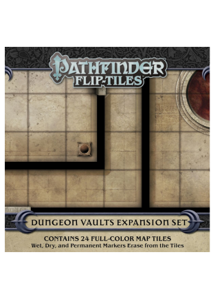 Pathfinder Flip-Tiles Dungeon Vaults Expansion