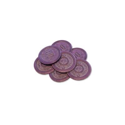 Scythe: monedas $50 (x7)