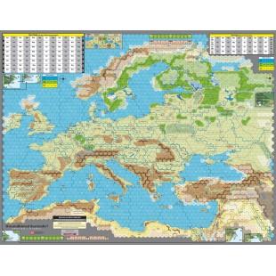 Unconditional Surrender - Mounted Mapboard