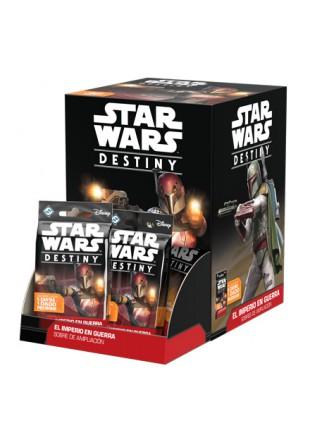 Star Wars Destiny - El Imperio en guerra: Sobres de ampliación
