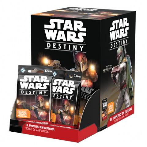 Star Wars Destiny - El Imperio en guerra: Caja Completa