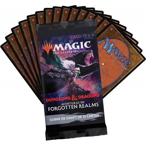 Aventuras en Forgotten Realms - Magic the Gathering Sobre Draft