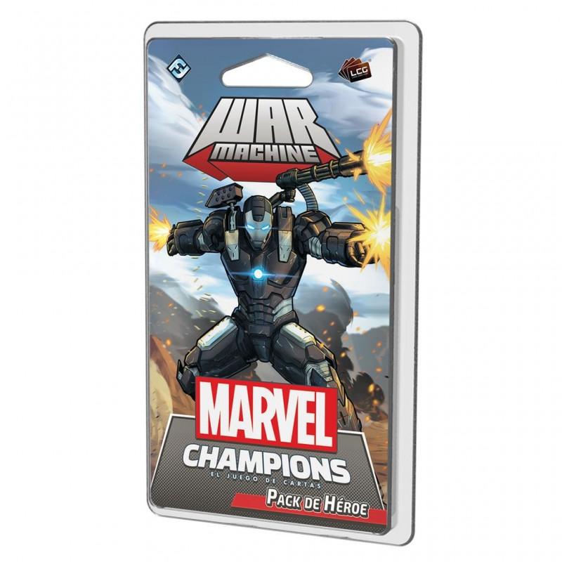 [Preventa 15-10-21] Marvel Champions: El juego de Cartas - Warmachine