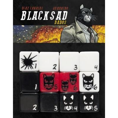 Blacksad el juego de rol: Set de dados