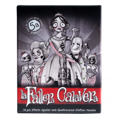 La Fallera Calavera: el joc de cartes valencià (5ª Edicio)