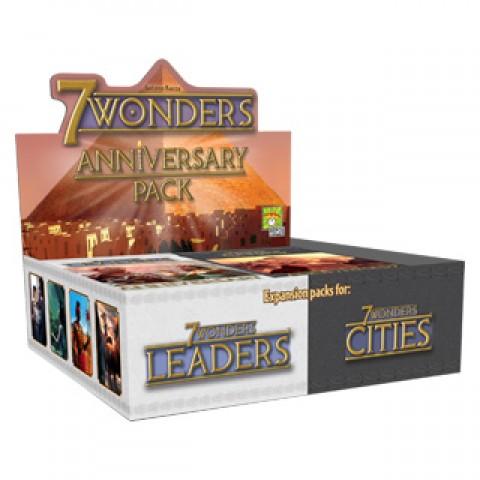 7 Wonders Pack Aniversario: Leaders