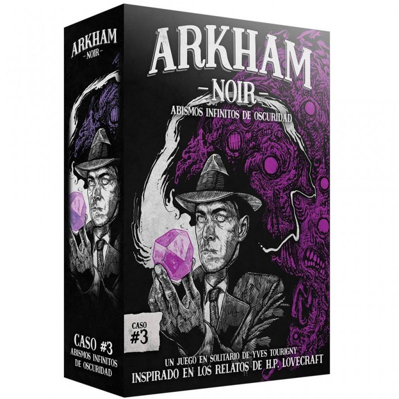 Arkham Noir caso #3- Abismos Infinitos de Oscuridad