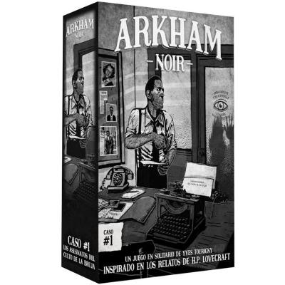 Arkham Noir Caso #1- Los asesinatos del culto de la bruja