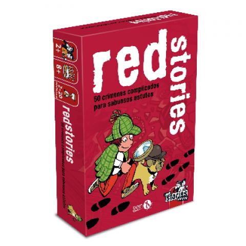Black Stories Junior: Red Stories