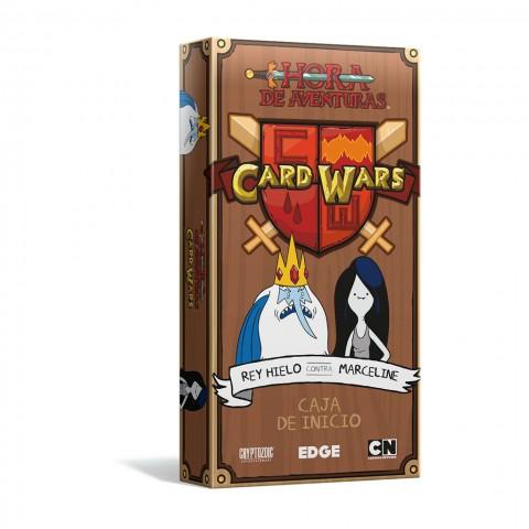 Hora de Aventuras: Card Wars - Rey Hielo Vs Marceline