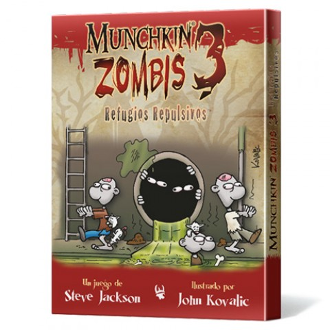 Munchkin Zombis 3: Refugios Repulsivos