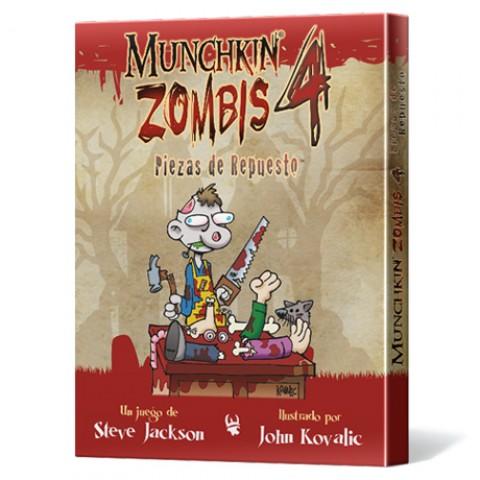 Munchkin Zombis 4: Piezas de Repuesto
